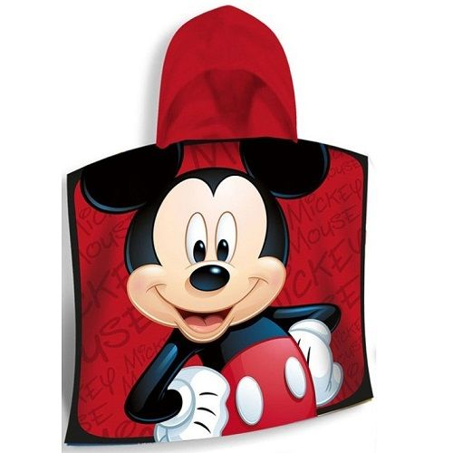 Disney Mickey Mouse Hooded Poncho Towel
