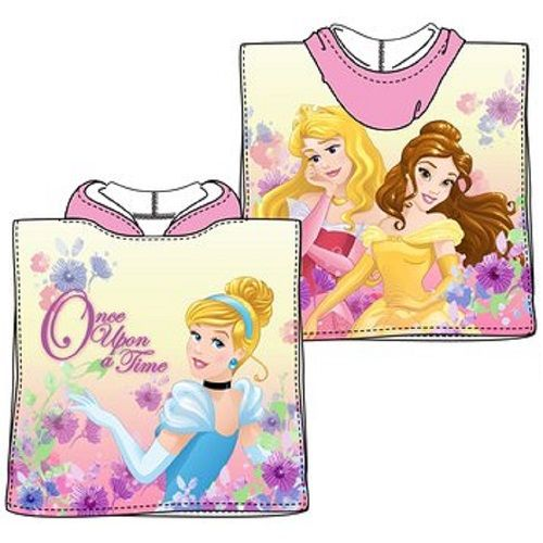 Disney Princess Once Upon A Time Mini Poncho Towel Pink