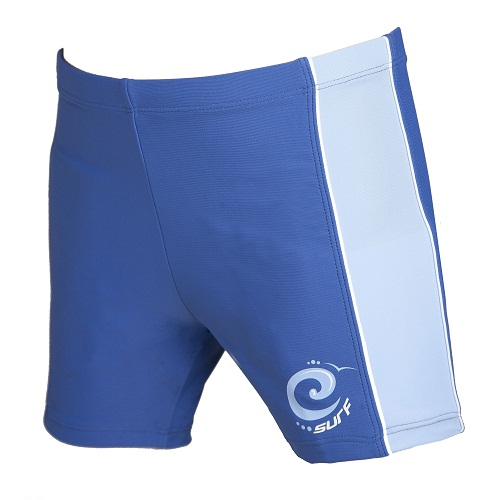 Indigo Blue Surf Swimming Trunks UPF 50+