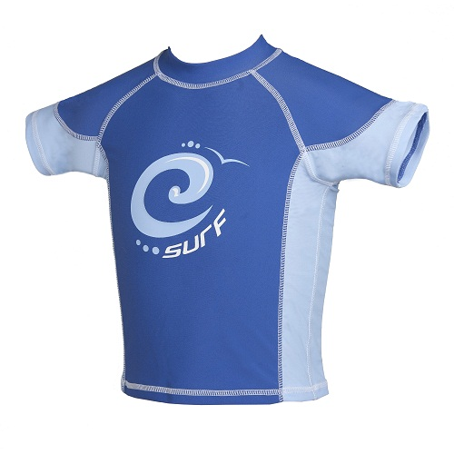 Indigo Blue Surf UV Sun Protection Rash Vest UPF 50+