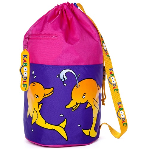 Kaboodle Dolphin Swim and Sports Bag - Pink and Purple