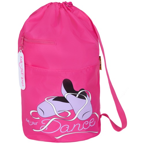 Kaboodle Pink Ballet Shoes Swim and Sports Bag - Pink