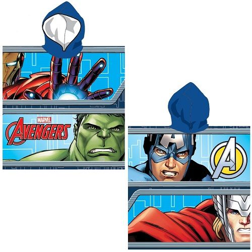 Marvel Avengers Hooded Poncho Towel