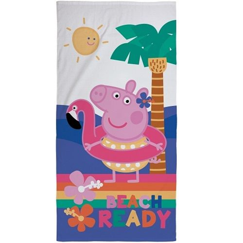 Peppa Pig Beach Ready Beach Towel
