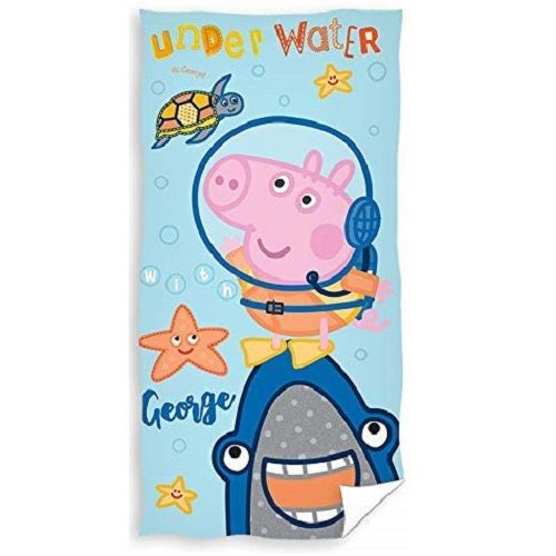 Peppa Pig George Underwater Beach Towel
